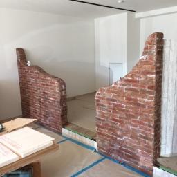 ついに壁が完成!!