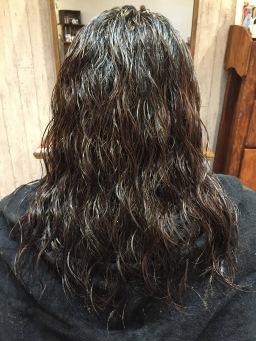 髪、綺麗にします